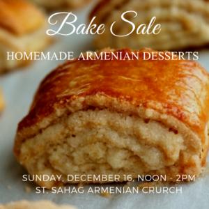Bake Sale @ Saint Sahag Armenian Church | Saint Paul | Minnesota | United States