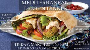 Mediterranean Lenten Dinner