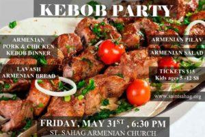 Kebob Party @ St. Sahag Armenian Church